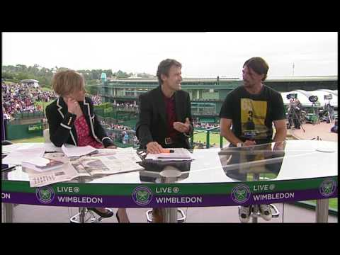 ivanisevic - 2001 Wimbledon champion Goran Ivanisevic visits the Live @ Wimbledon studio. SUBSCRIBE to The Wimbledon YouTube Channel: http://www.youtube.com/wimbledon LIK...