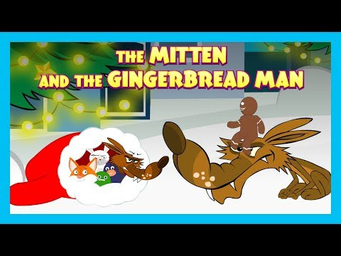 KIDS STORIES - The Mitten AND The Gingerbread Man || Tia and Tofu Storytelling - Animated Stories