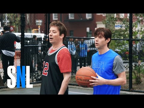 Saturday Night Live Basketball Scene