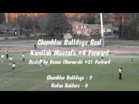 Chamblee Varsity Girls Soccer vs. Redan Raiders - 02/25/2016