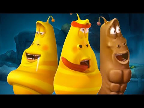LARVA - YELLOW GETS IN SHAPE | Cartoons For Children | LARVA Official