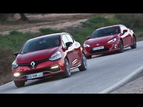 Renault Clio RS 200 Turbo vs Toyota GT86 – autocar.co.uk