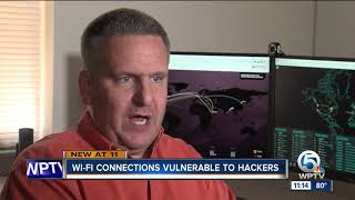 Wi-Fi connections vulnerable to hackers