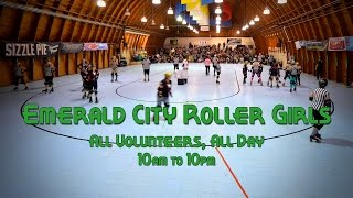 Emerald City Roller Girls game day timelapse