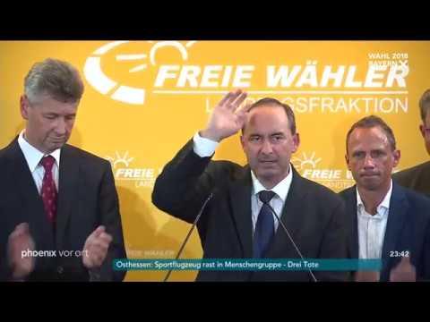 Landtagswahl in Bayern: Hubert Aiwanger am 14.10.2018