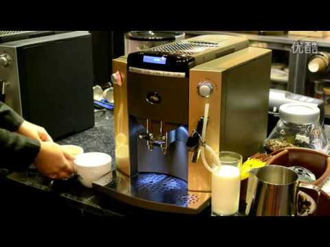 Bean to Cup Coffee Machine WSD18 010A Operation Video in Chinese-JAVA COFFEE MACHINE