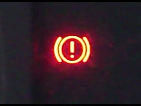 How To Reset Brake Warning Light On 2000 2007 Toyota