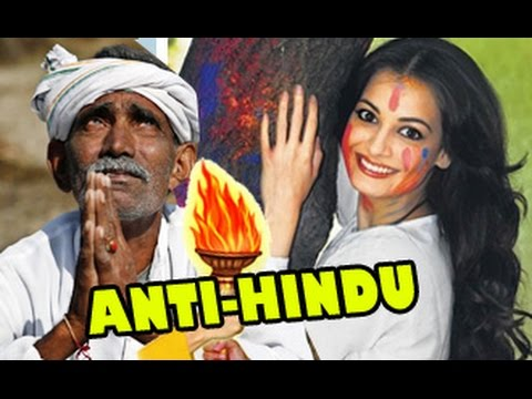 Dia-Mirza-Says-SORRY-for-Holi-Tweet-Wastage-of-Water-Hindu-Featival