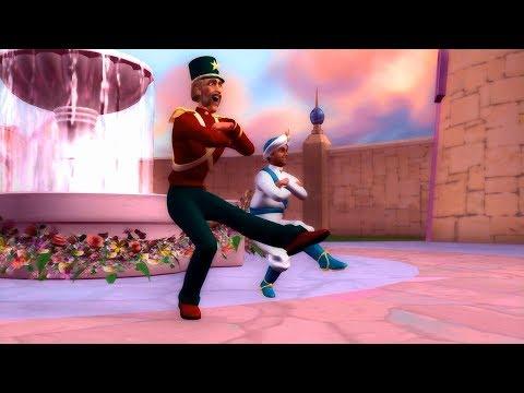 Barbie in The Nutcracker - Major Mint & Captain Candy Dance