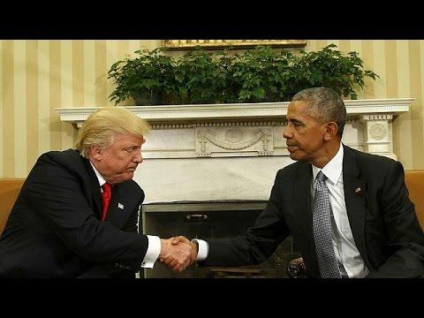 ΗΠΑ: Ιστορική συνάντηση Τραμπ -Ομπάμα στον Λευκό Οίκο