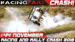 Video Racing and Rally Crash | Fails of the Week 44 November incl. WRC Rally Catalunya 2018 MP3, 3GP, MP4, WEBM, AVI, FLV November 2018