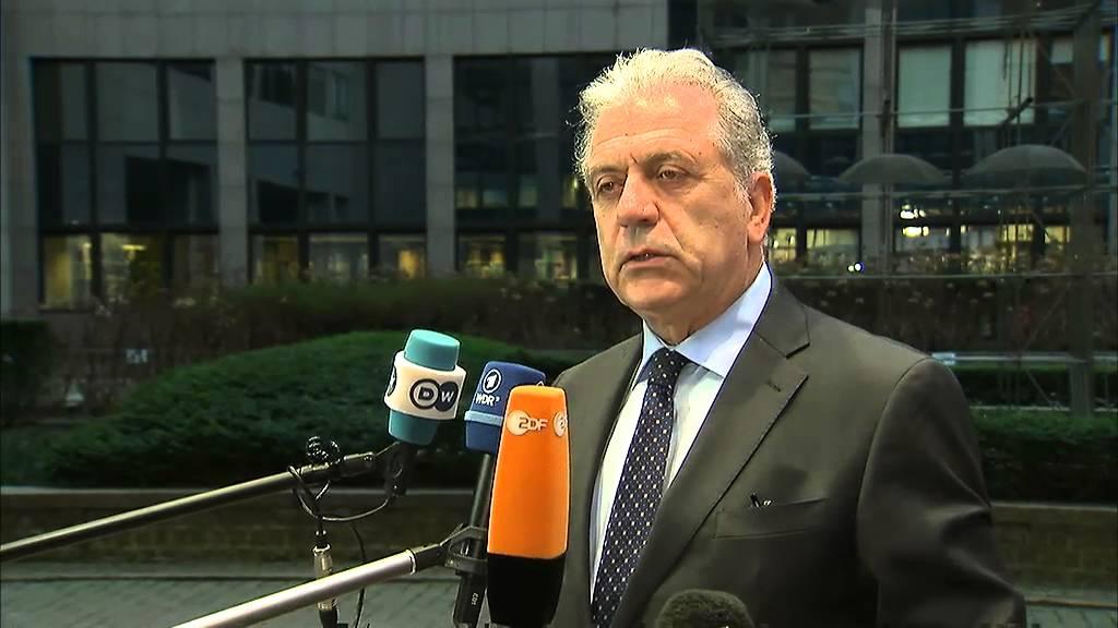 Δήλωση του Δ. Αβραμόπουλου κατά την άφιξή του στο Συμβούλιο των υπουργών Εσωτερικών της Ε.Ε.