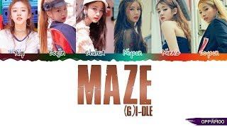Video (G)I-DLE ((여자)아이들) - 'MAZE'  Lyrics (Color Coded Han-Rom) MP3, 3GP, MP4, WEBM, AVI, FLV April 2019