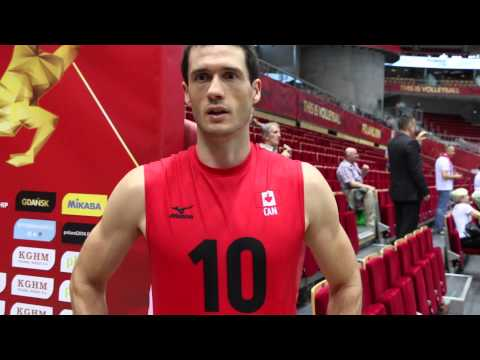 Toon Van Lankvelt, Canadian National Volleyball Team