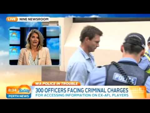 WA Police in Trouble   Today Perth News