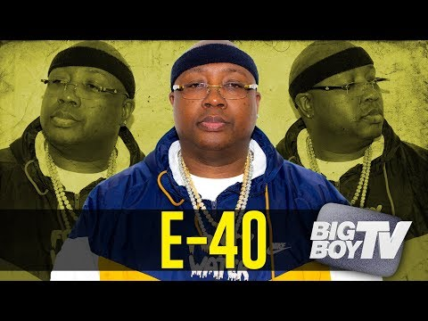 E-40 on Partying w/ Drake, More Rap Songs Than Anyone, The New Generation + More!