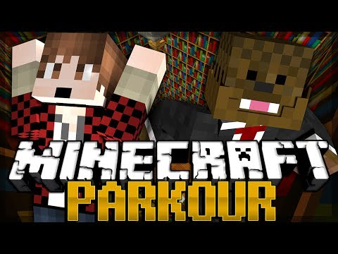 Minecraft Parkour 2 MAP FIESTA! w/ BajanCanadian