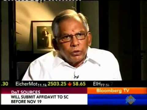 Subbiah - NSDC Chairman Mr M V Subbiah speaking on skills to Bloomberg India TV.