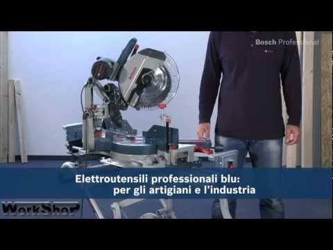 Troncatrice Bosch GCM 12 GDL professional. Italiano.