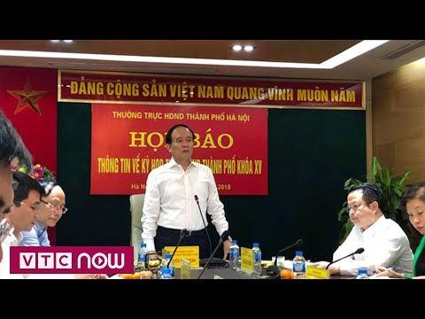 Hà Nội lấy phiếu tín nhiệm 36 chức danh - Thời lượng: 53 giây.
