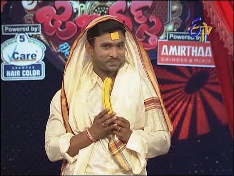 Extra Jabardasth        Adhire Abhinay Performance on 24th October 2014