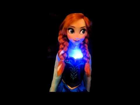 Anna Singing Doll - Disney Store