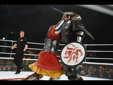 Medieval real fight