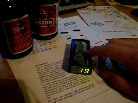 Bierzähler 1.0 | Beer counter 1.0 - mosfetkiller.de