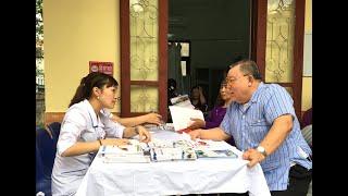 Khám chữa bệnh tình nguyện tại phường Phương Đông