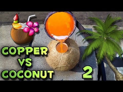 Molten Copper vs Coconut