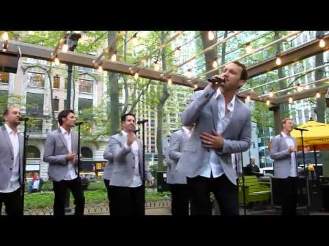 Straight No Chaser Bryant Park Soldier