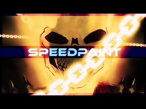 Ghost Rider SpeedDraw on PSD - Thời lượng: 10 phút.