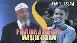 Video Pemuda INI DATANG JAUH DARI AMERIKA UNTUK MASUK ISLAM | Dr. Zakir Naik MP3, 3GP, MP4, WEBM, AVI, FLV Oktober 2018