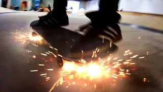 Video SKATEBOARD WHEELS THAT SPARK! | YOU MAKE IT WE SKATE IT EP 66 MP3, 3GP, MP4, WEBM, AVI, FLV Agustus 2017
