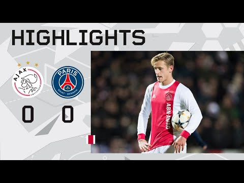 Highlights Ajax O19 - PSG (Youth League)