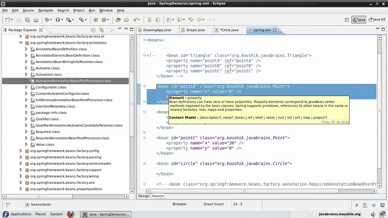 The autowired annotation learning spring core java brains baditri Choice Image