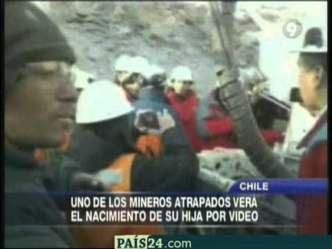 Nació Esperanza, hija de uno de los 33 obreros atrapados en mina chilena ESPERO QUE LE MANDEN FOTOS AL HOYO.