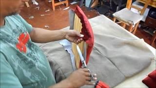 Nesse vídeo vamos aprender como fazer um tampo de cadeira de sala de jantar. É muito simples. https://www.facebook.com/waltercortinasestofados