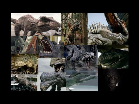 All Primeval / Primeval: New World Creatures In Order of Appearance (Not Including The Novels) - HD