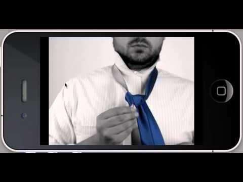 Video of Tie Knots in split color video