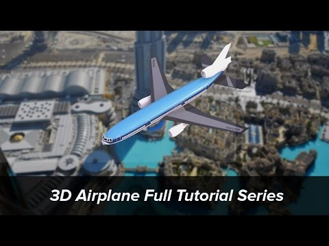 3dsmax - Hello everyone this is Abanoub, and in this airplane tutorial series i will show you how to make a realistic looking airplane using 3ds max and vray. To watc...