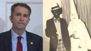 Did Virginia Governor Wear Blackface in Old Yearbook?