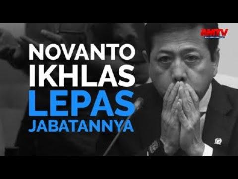Novanto Ikhlas Lepas Jabatannya
