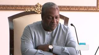 Ethiopian Foreign Minister Meets President Mahama