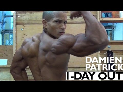 Damien Patrick- 1 Day Out From Men's Physique Show!
