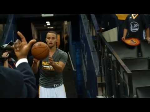 Video: Phantom: Stephen Curry Sinks Shot From the Tunnel!