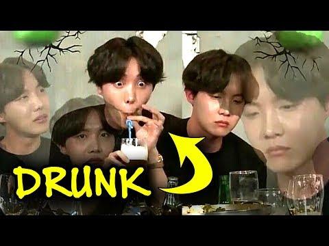 BTS are drunku