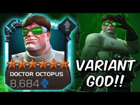 Doctor Octopus Variant God!!! - Insane Heavy Intercept Strategy - Marvel Contest Of Champions