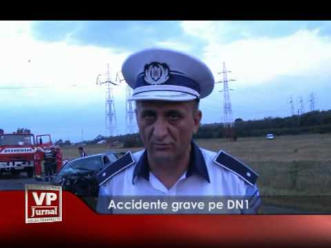 Accidente grave pe DN1
