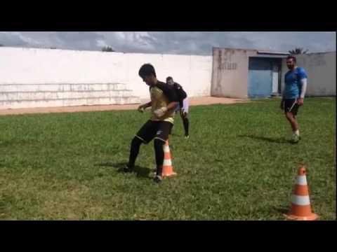 Treinamento de goleiro em Brejinho-RN